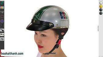 Người mẫu mũ bảo hiểm 3D