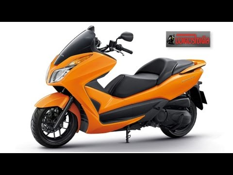 FORZA 300 2015 New Color ประกาศความเป็นผู้นำ Big Scooter รอผู้ท้าชิงจาก Yamaha