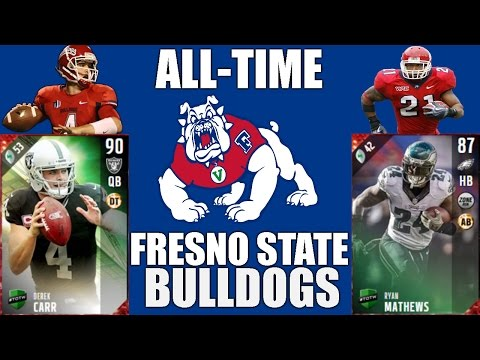 All-Time Fresno State Bulldogs Team - Derek Carr and Ryan Mathews! - Madden 17 Ultimate Team