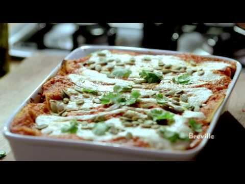 "Breville Presents ""Make It Vegan"" Nirvana Enchilada Casserole: Isa Chandra Moskowitz"