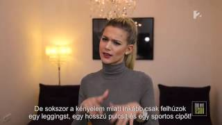 Conte Harisnya, Több Mint TestŐr műsor Weisz Fannival