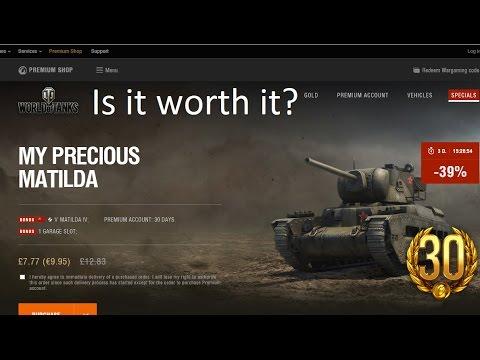 World of Tanks Matilda IV ... is it worth it? & Mini Review