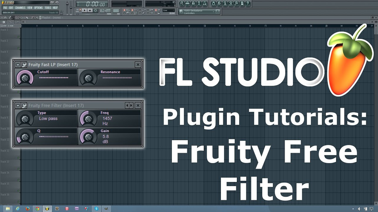 fl studio tutorial how to use fruity free filter fruity fast lp