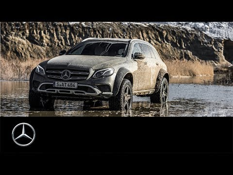 Mercedes-Benz E-Class All-Terrain 4x4² Prototype And Matthias Malmedie