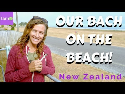 Our Retro Beach Bach in New Zealand (Ep. 45) - Family Travel Channel