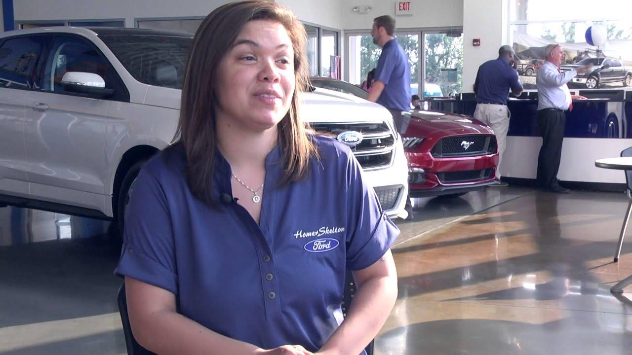 Homer Skelton Ford Sales Representative Skylar Purser