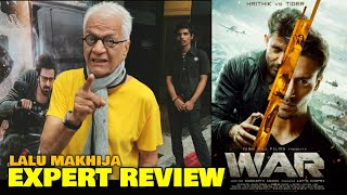 War Movie REVIEW by Expert Lalu Makhija | Hrithik Roshan, Tiger Shroff, Vaani Kapoor