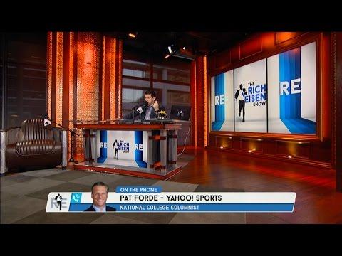 National Columnist YAHOO Sports Pat Forde Talks NCAA Football - 11/4/16