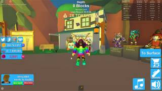 Getting Party Pet in Roblox Mining Simulator