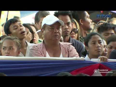 Groundbreaking Ceremony of Biyaya ng Pagbabago Housing Project (Speech) 5/18/2017