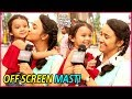 Yeh Un Dinon Ki Baat Hai: Ashi Singh Aka Naina's Off Screen FUN With Little Princess Trisha