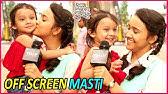 Yeh Un Dinon Ki Baat Hai: Ashi Singh Aka Naina&#39s Off Screen FUN With Little Princess Trisha