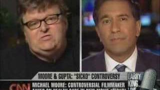 Michael Moore VS CNN