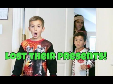 BIGGEST CHRISTMAS TREASURE HUNT! \ WE LOST THEIR PRESENTS!