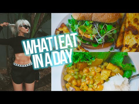 WHAT I EAT IN A DAY #1 (Vegan!)   atleeeey