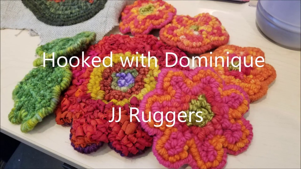 Rug Hooking With Jj Ruggers Guild Frpm