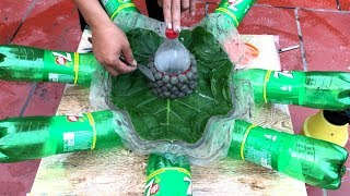 DIY - ❤️ CRAFT IDEAS ❤️ - Idea of Cement Double Pots Making at Home - Pot making
