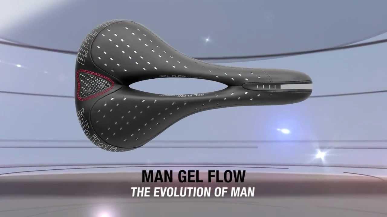 Men/'s Selle Italia Man Gel Flow Saddle
