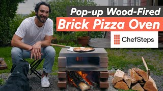 How to Build Your Own High-Performing Wood-Fired Pizza Oven from Bricks