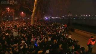 London Fireworks on New Year& 39 s Day 2009 New Year Live BBC One
