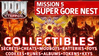 Doom Eternal - Super Gore Nest All Collectible Locations (Secrets, Collectibles, Cheats, Upgrades)