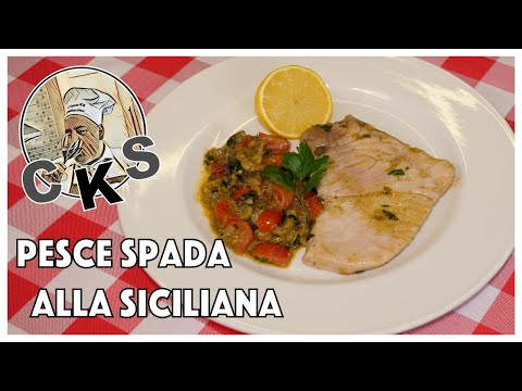 Swordfish Steaks In A Sicilian Sauce (Tutorial)