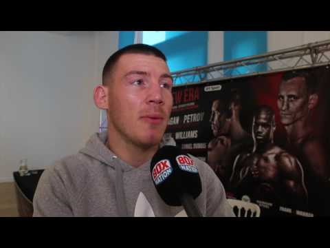 'SMITH THINKS HE'S ABOVE ME. THINK HE IS OVER-LOOKING ME. I HOPE HE IS' -LIAM WILLIAMS ON LIAM SMITH