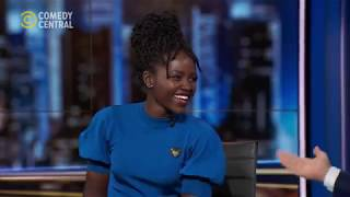 Lupita Nyong'o Talks Star Wars | The Daily Show | 12 December 2019
