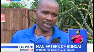 Man killed and eaten by lion in Rongai