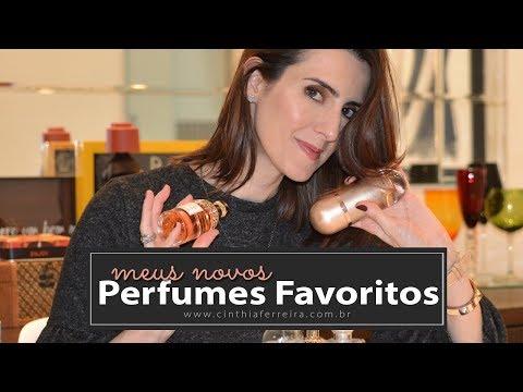 Meus Perfumes favoritos do momento - Por Cinthia Ferreira - 동영상