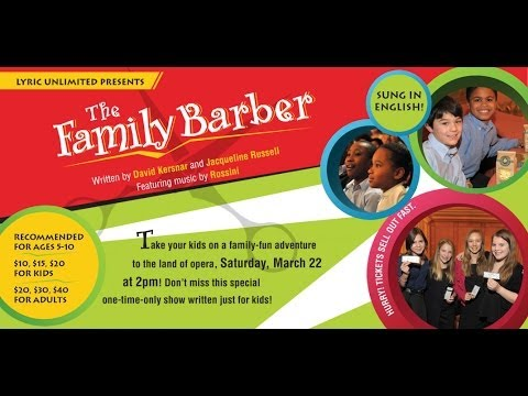 Anthony Freud, Sir Andrew Davis, and Renée Fleming discuss Lyric Unlimited's THE FAMILY BARBER