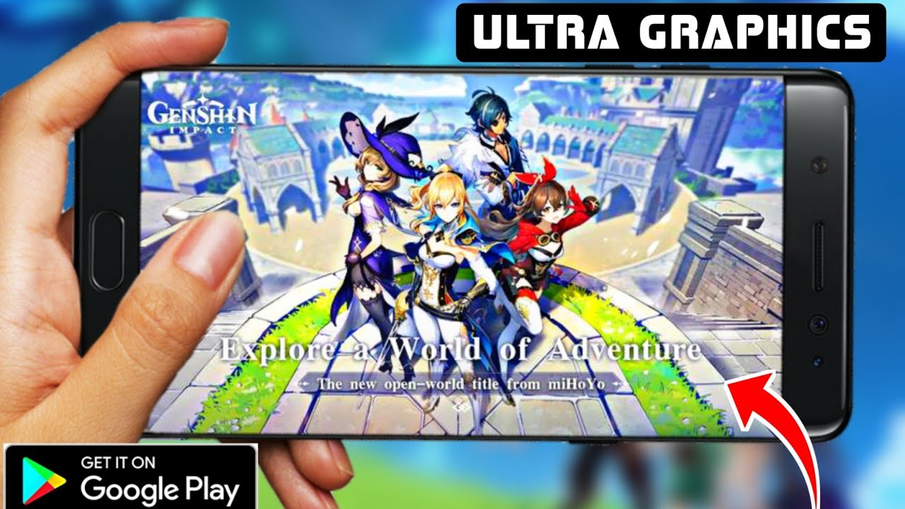 Genshin Impact Mobile Out For Android Apk Data Best Adventure Game High Graphics Game Youtube