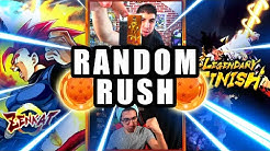 RANDOM RUSH DRAGON BALL LEGENDS vs YEKAIS la revanche