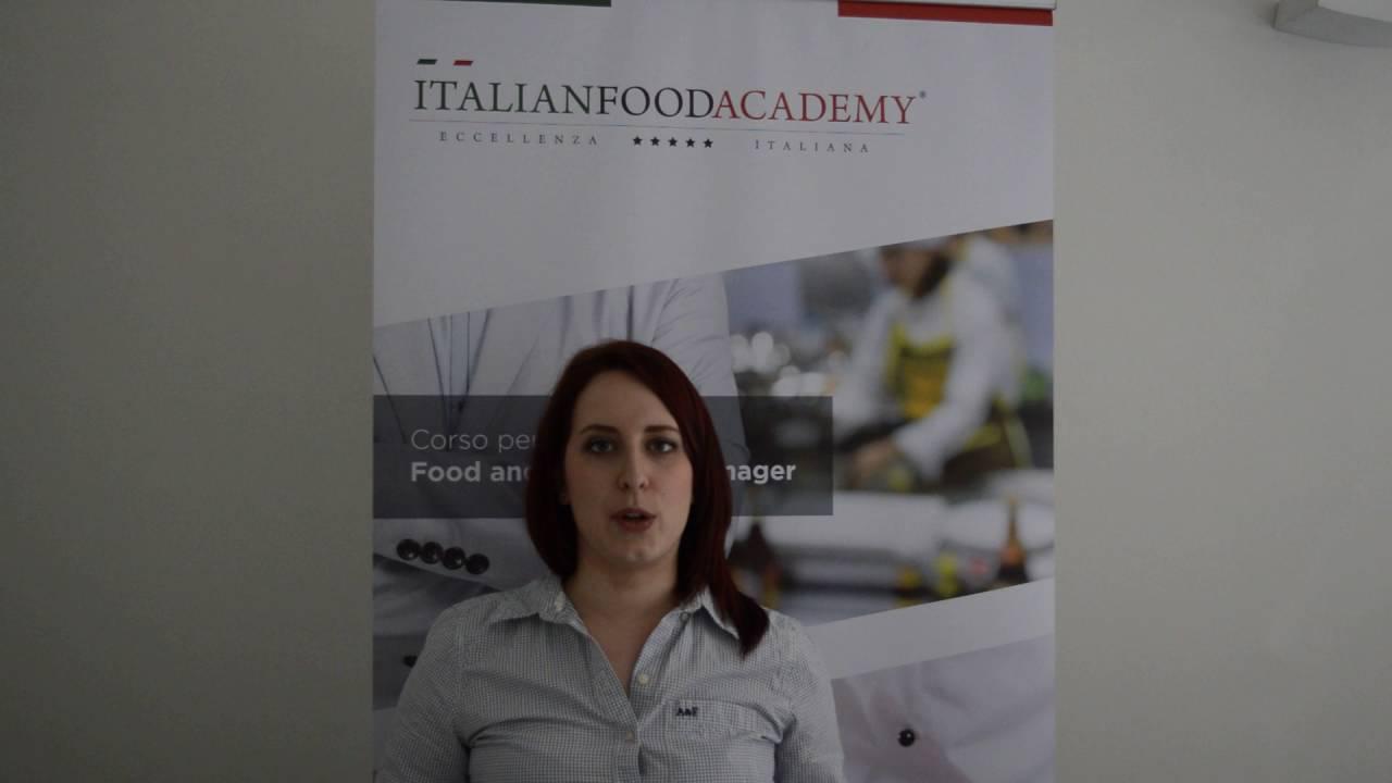 Master Food Design Milano.Testimonianza Master Food And Beverage Manager Milano Maggio 2016