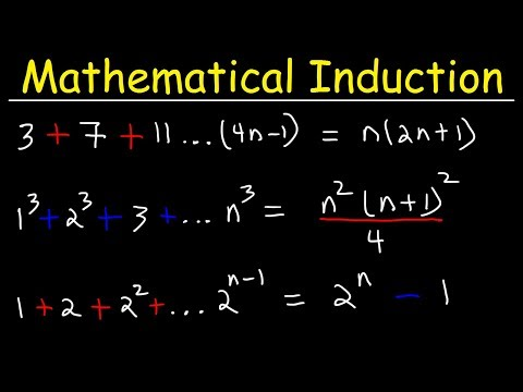 Mathematical Induction Practice Problems