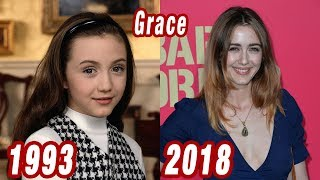 The Nanny - THEN AND NOW 2018