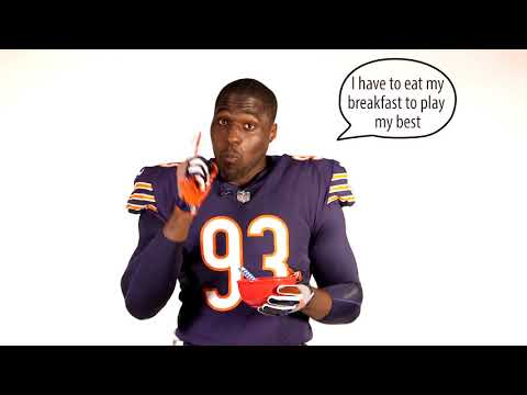 Sam Acho for Fuel Up to Play 60: Breakfast Mouthful