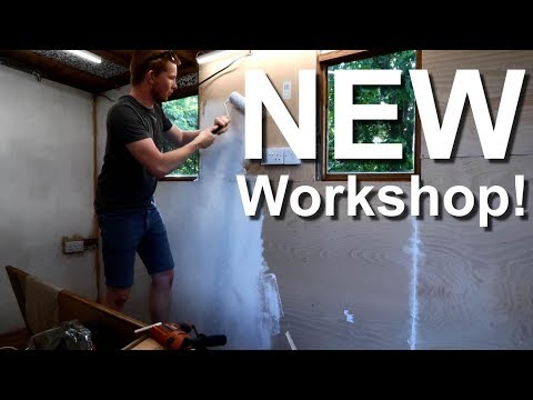 Building a workshop (in a shed)