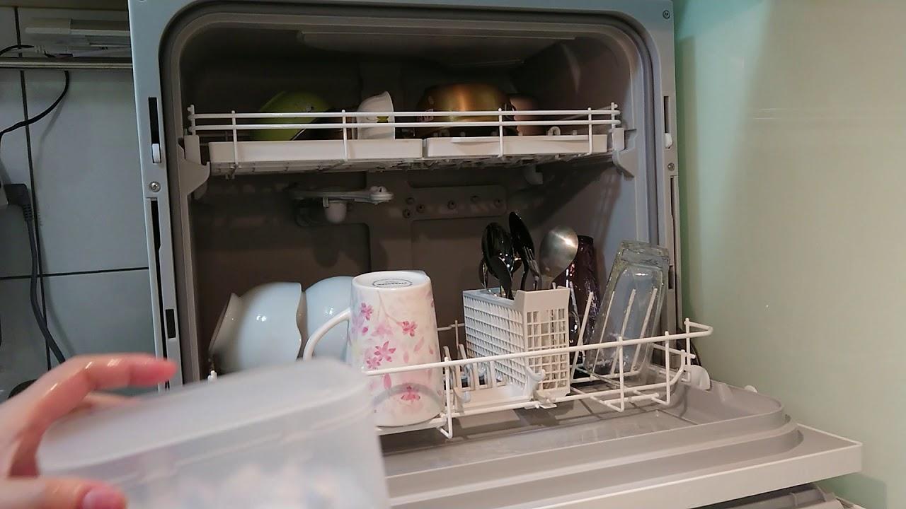 Panasonic NP-TH1 洗碗機 每天排餐具進機器是很療癒的一件事 - YouTube