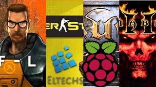 Games on Raspberry Pi: Counter Strike, Half-Life, Diablo II and Unreal Tournament