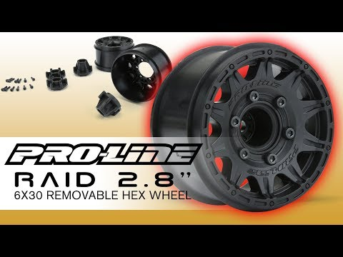 Pro-Line Badlands MX28 2.8  Mtd F11 17mm PRO-MT 4x4 F//R 10125-18