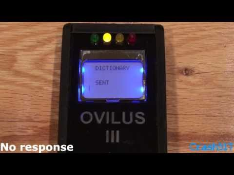 Experimenting With The Ovilus III Part 1