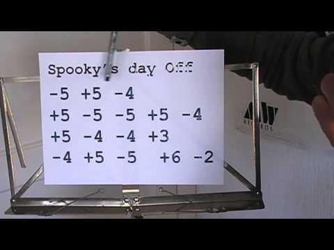 Spooky's Day Off,   extra uitleg en 'harmonica karaoke'  versie