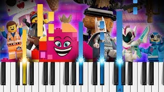 Catchy Song - The LEGO Movie 2: The Second Part - Piano Tutorial