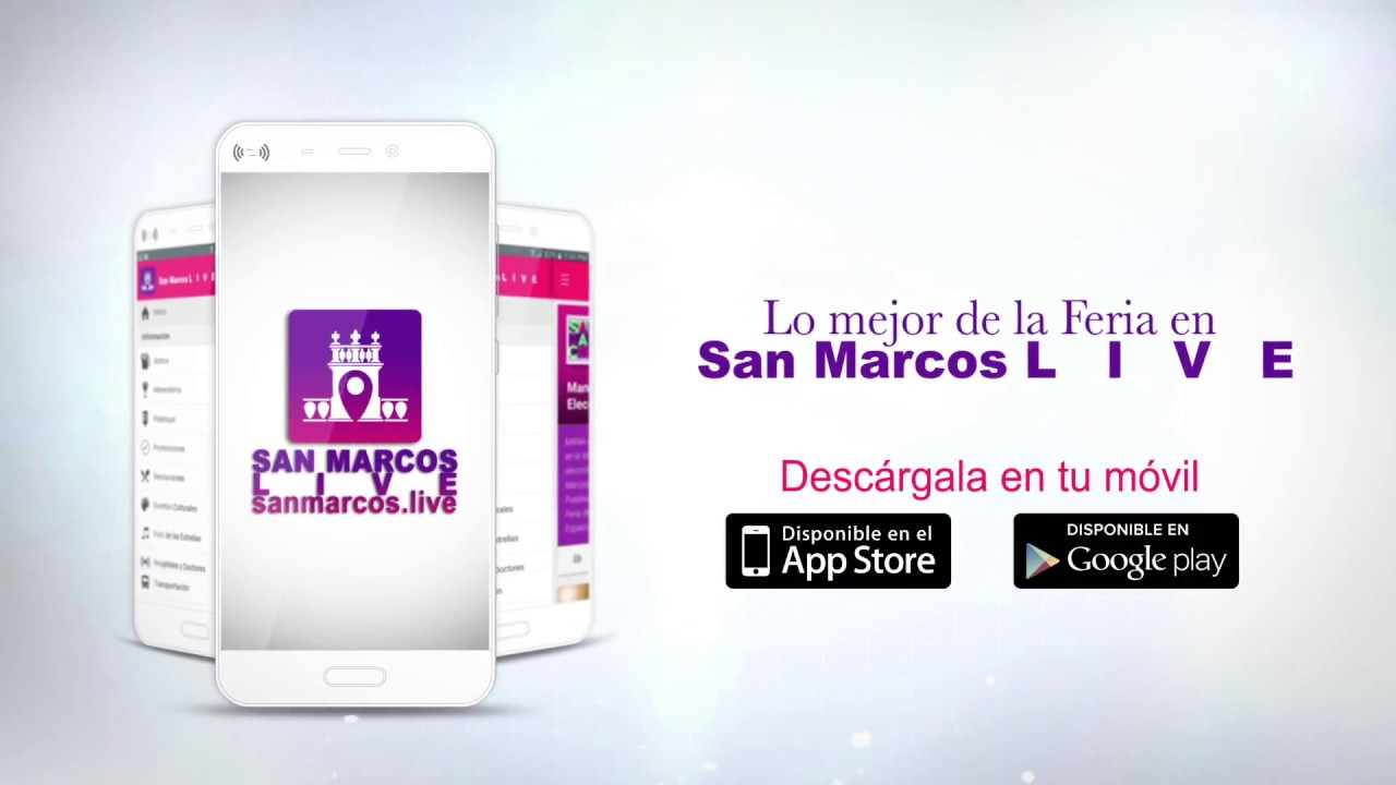 San Marcos LIVE Aplicación - YouTube