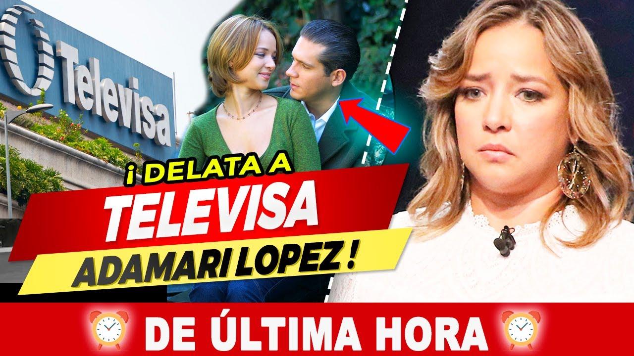 ⛔😨 ¡ 𝗨𝗟𝗧𝗜𝗠𝗔 𝗛𝗢𝗥𝗔 !  Adamari López 𝗟𝗘 𝗦𝗔𝗖𝗔 𝗟𝗢𝗦 𝗧𝗥𝗔𝗣𝗢𝗦 𝗔𝗟 𝗦𝗢𝗟  a Televisa ! ❌