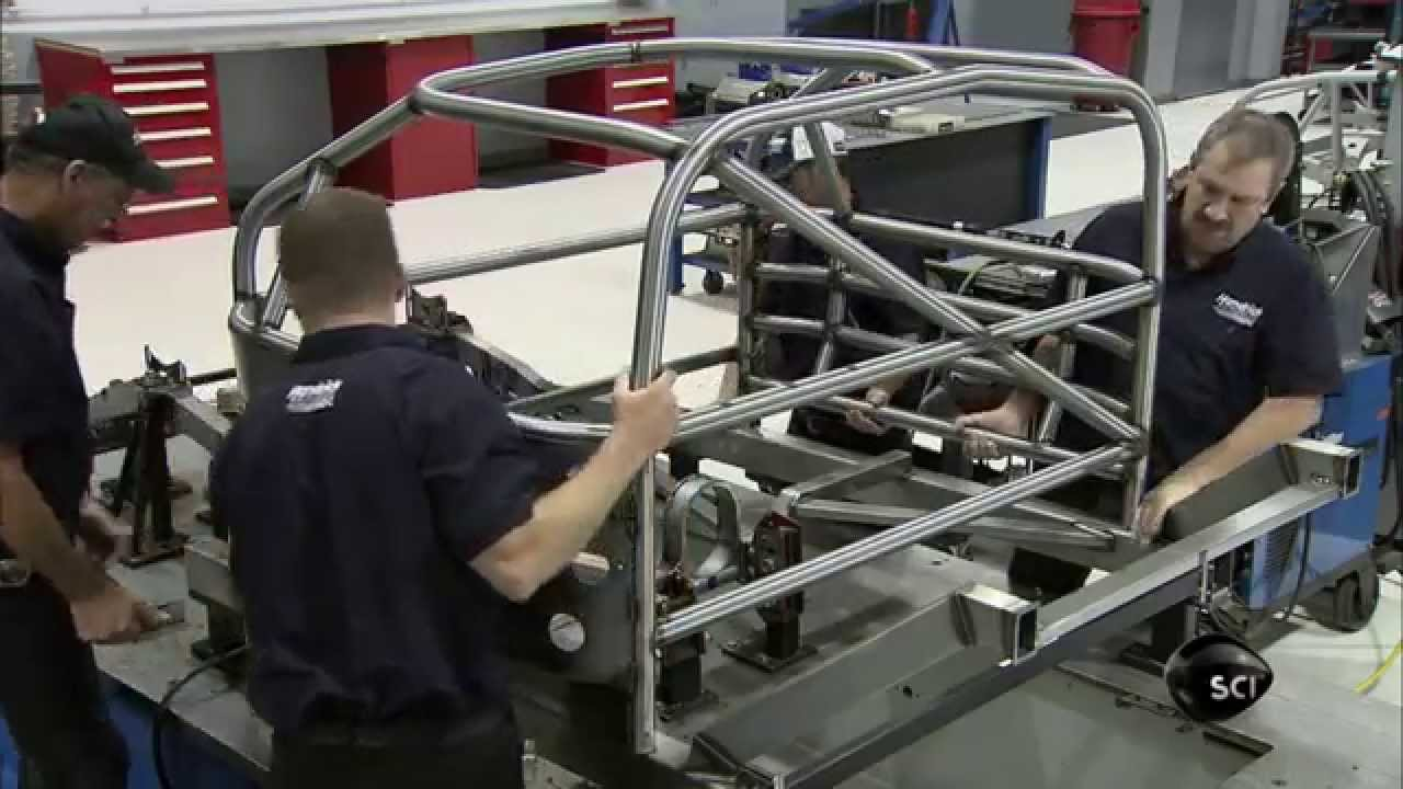 Assembling a Race Car Frame | How It\'s Made - YouTube
