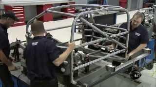 Assembling a Race Car Frame | How It's Made