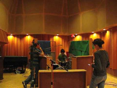 Recording Drums at Blue Wave - Christine McAvoy Ph...