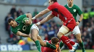 Ireland v Wales - Official Extended Highlights 8th February 2014